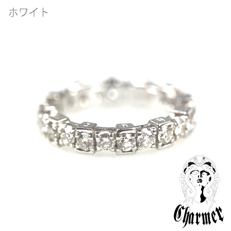 K18ダイヤチャーマー エタニティーリング [19号〜20号]【Charmer(チャーマー)】RG0061