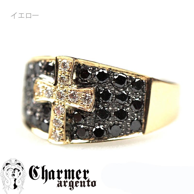[Web Shop限定]SVCZクロスモチーフリング[6号〜18号]【Charmer argento(チャーマー アルジェント)】R1000