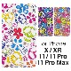 [iPhone X/XS/XR/11/11 Pro/11 Pro Maxタイプ]ボタニカル手帳型ケース【Jimy's Charmer(ジミーズチャーマー)】AJA-01021-X