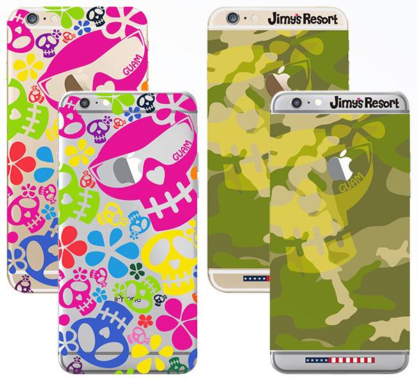 [iPhone6/6sタイプ]グアム店限定iPhoneソフトケース【Jimy's Charmer(ジミーズチャーマー)】JCC-1002G-6