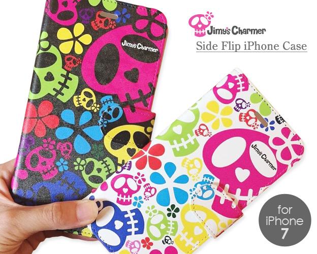 [iPhone7/8タイプ]手帳型ケース【Jimy's Charmer(ジミーズチャーマー)】AJA-01004-7