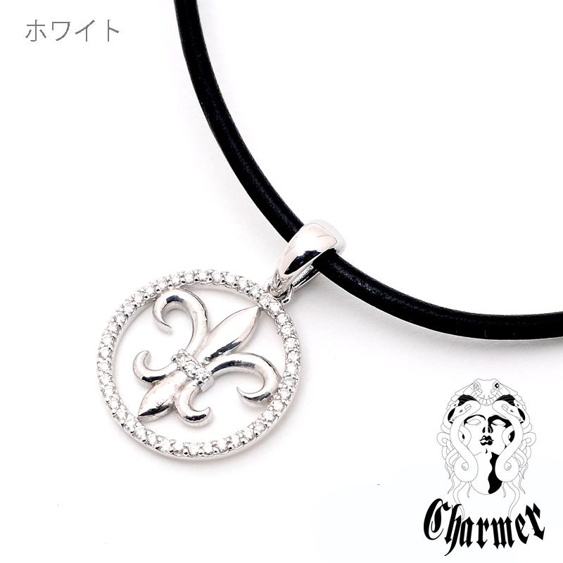 K18ダイヤユリペンダント[L]【Charmer(チャーマー)】P1022