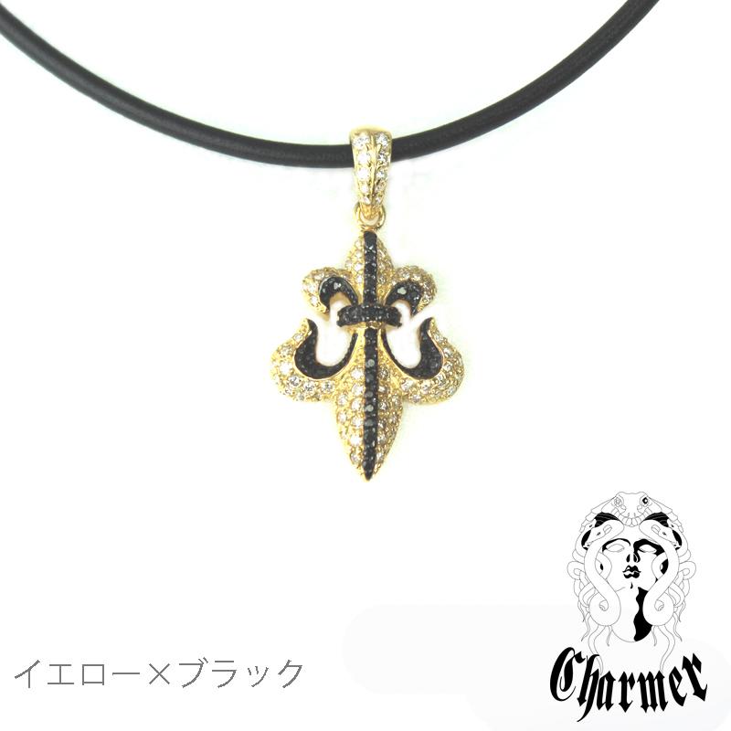 K18ダイヤ フレアペンダント[S]【Charmer(チャーマー)】P1094