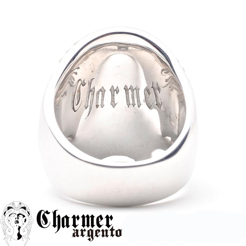 SVCZスカルリング[10〜30号]【Charmer argento(チャーマー アルジェント)】R0019