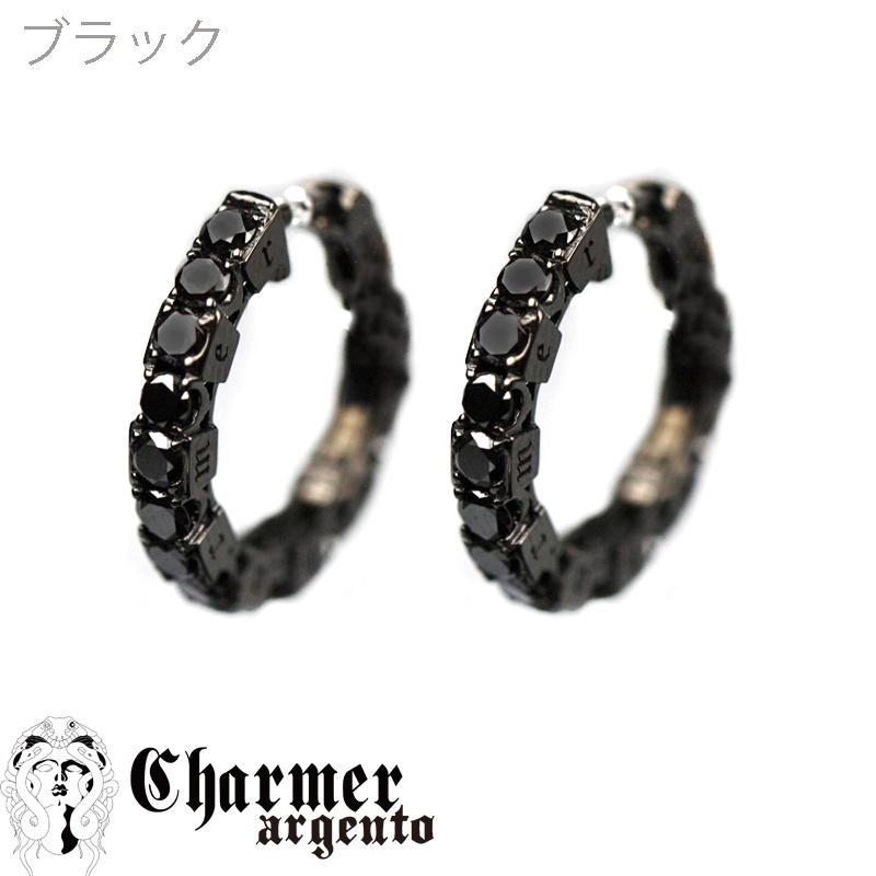 SVCZフープピアス [2P/両耳用]【Charmer argento(チャーマー アルジェント)】PI1010