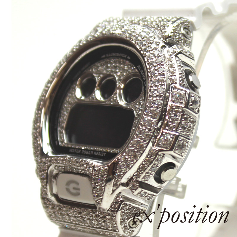 CASIO G-SHOCK DW-6900カスタム【ex'position(エクスポジション)】G0001