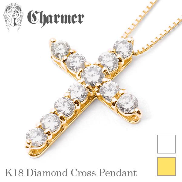 K18 ダイヤモンドペンダント【Charmer(チャーマー)】PD0255
