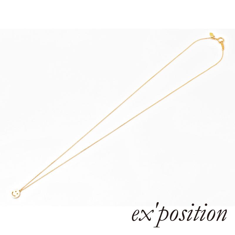 K18スマイルペンダント【ex'position(エクスポジション)】P1043