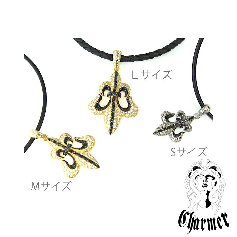 K18ダイヤ フレアペンダント[M]【Charmer(チャーマー)】P1096