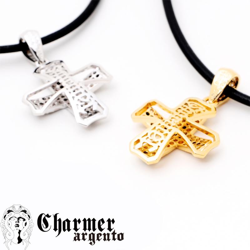 [Web Shop限定] SVCZチャーマークロスペンダント[S]【Charmer argento(チャーマー アルジェント)】P1017