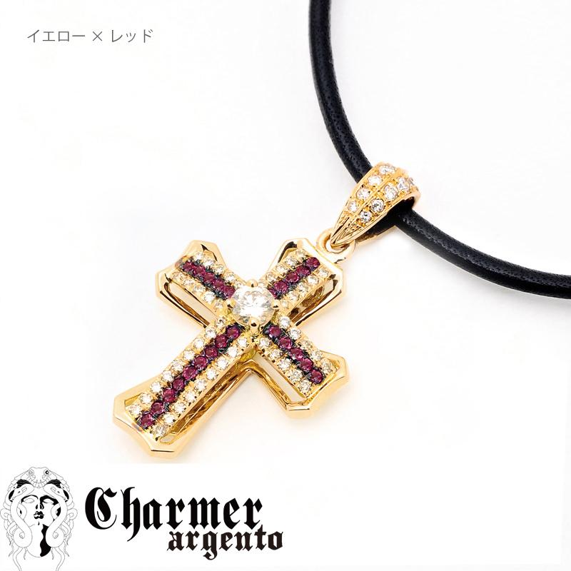 [Web Shop限定] SVセンターCZチャーマーペンダント[M]【Charmer argento(チャーマー アルジェント)】P1065