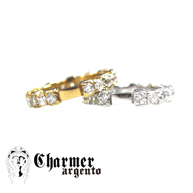 SVCZチャーマーエタニティリング[4号〜24号]【Charmer argento(チャーマー アルジェント)】RG0246