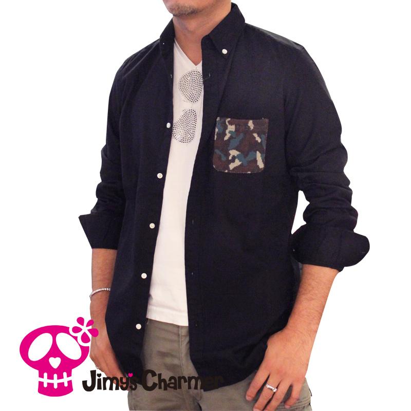 カモフラスカルシャツ【Jimy's Charmer(ジミーズチャーマー)】JCS-04
