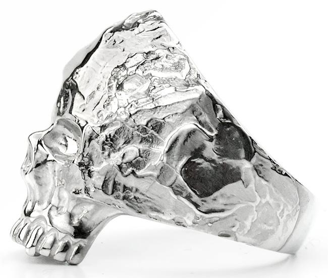 SV Rockスカルリング[S/6号〜15号]【Charmer argento(チャーマー アルジェント)】EX-8010-S