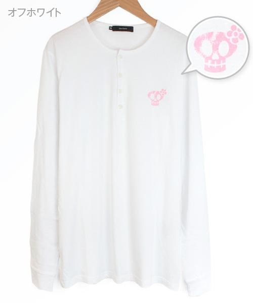 ヘンリーネックTシャツ[長袖]【Jimy's Charmer(ジミーズチャーマー)】AJC-01009