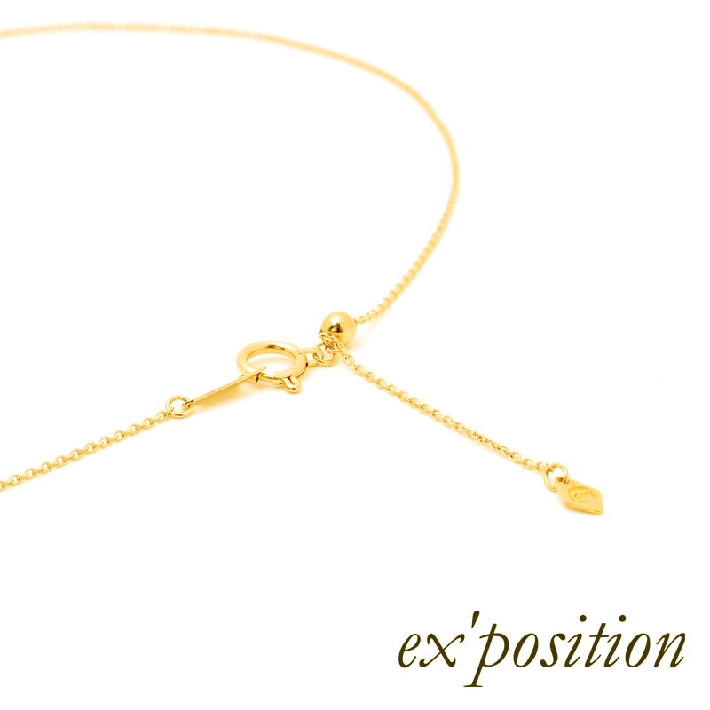K18ピースペンダント【ex'position(エクスポジション)】P1045