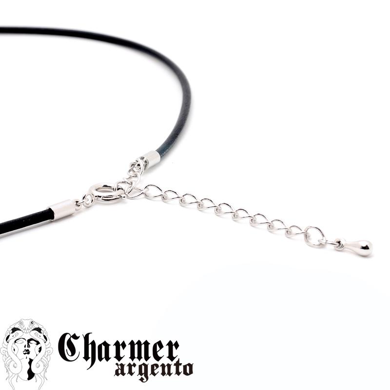 [Web Shop限定] SVCZチャーマークロスペンダント[M]【Charmer argento(チャーマー アルジェント)】P1014
