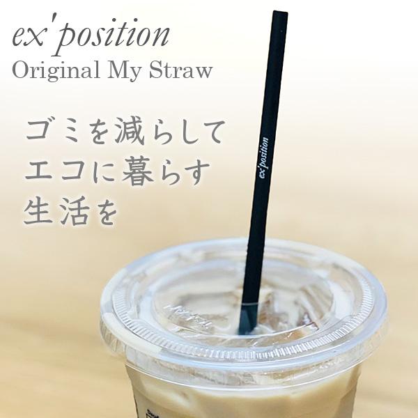 ≪数量限定特別価格≫オリジナル Myストロー【ex'position(エクスポジション)】EX-G009