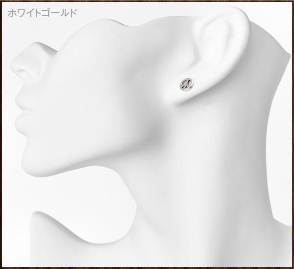 K10ピースピアス[1P/片耳用]【ex'position(エクスポジション)】EX-1268