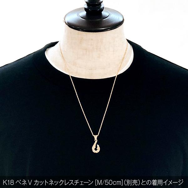 K18つりばりペンダントトップ【ex'position(エクスポジション)】EX-P026-L