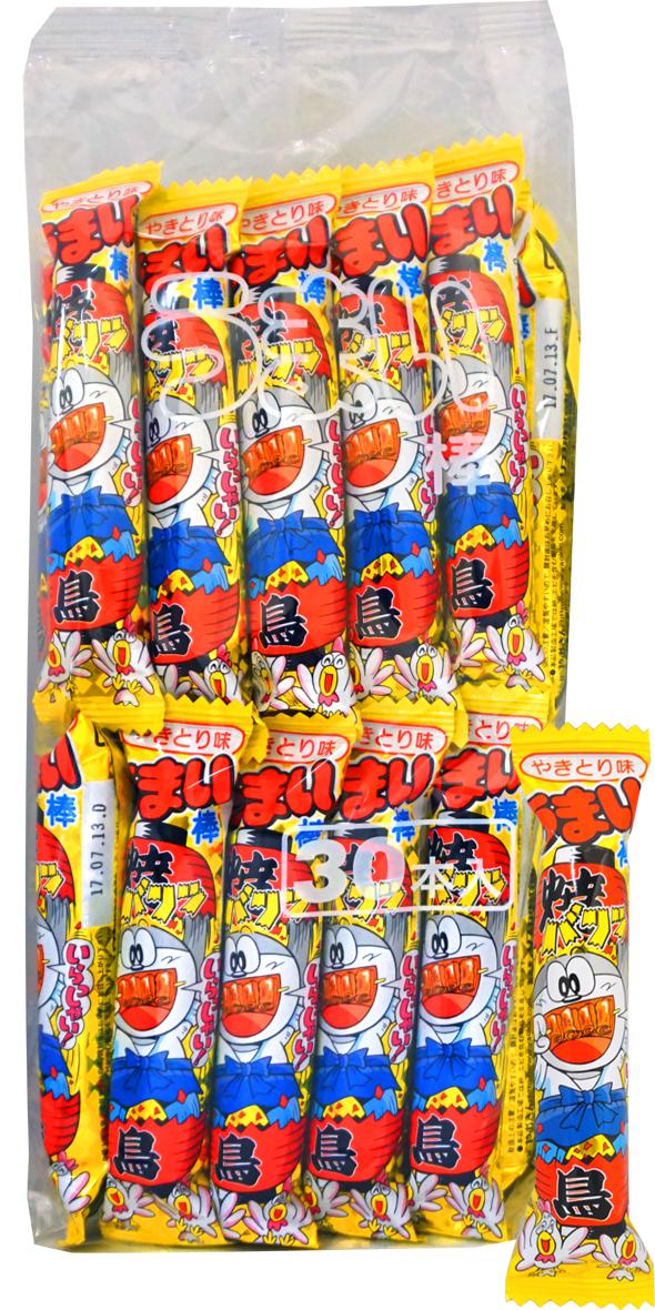 10円 やおきん うまい棒 やきとり味 [1袋 30本入]