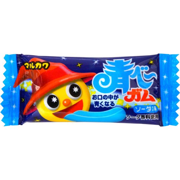 10円 マルカワ 青べーガム ソーダ味  [1箱 50個入]
