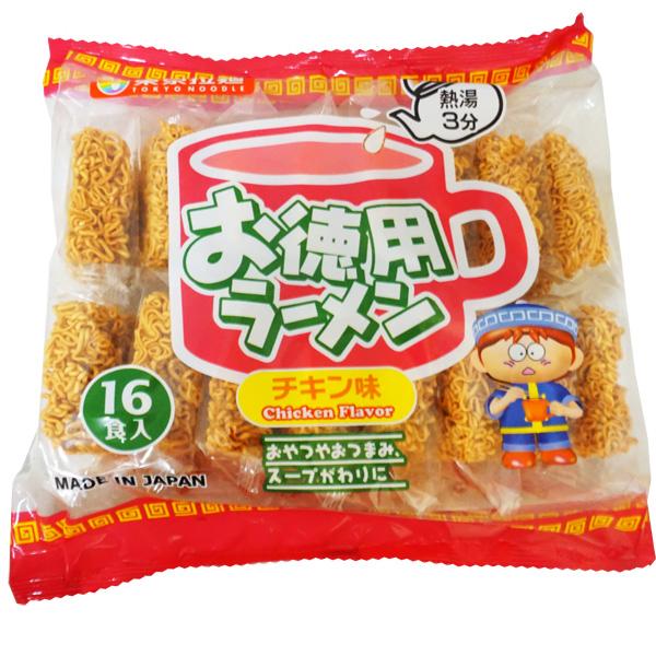 25円 東京拉麺 お徳用ラーメン チキン味[1袋 16個入]
