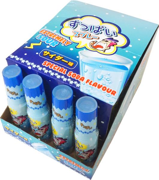 すっぱいスプレー サイダー味 [1箱 24個入]