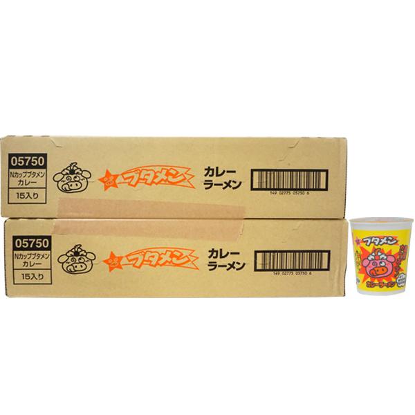 80円 おやつカンパニー ブタメン カレー味[1箱 15個入]