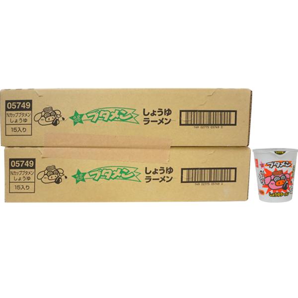 80円 おやつカンパニー ブタメン しょうゆ味 [1箱 15個入]