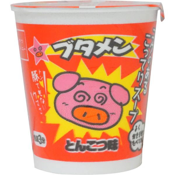 80円 おやつカンパニー ブタメン とんこつ味 [1箱 15個入]