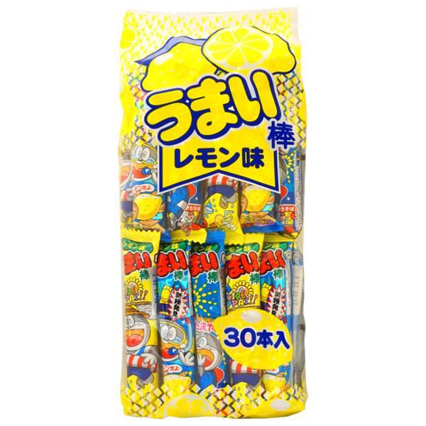 【期間限定】10円 やおきん うまい棒 レモン味[1袋 30本入]