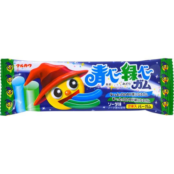 青べー緑べーガム [1箱 20袋入]