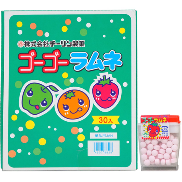30円 チーリン ゴーゴーラムネ [1箱 30個入]