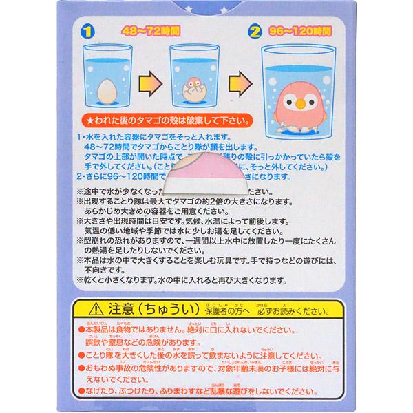 300円 辰巳屋 ことり隊のたまご2 [1箱 12個入]