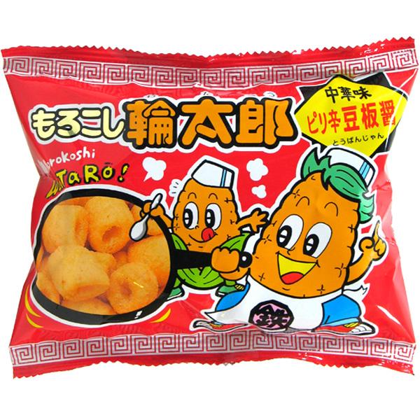 20円 菓道 もろこし輪太郎 ピリ辛豆板醤 [1袋 30個入]