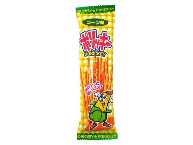 15円 やおきん 16gポリッキー コーン味 [1袋 24個入]