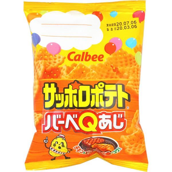 40円 カルビー 24gサッポロポテト バーベQあじ [1箱 24個入]