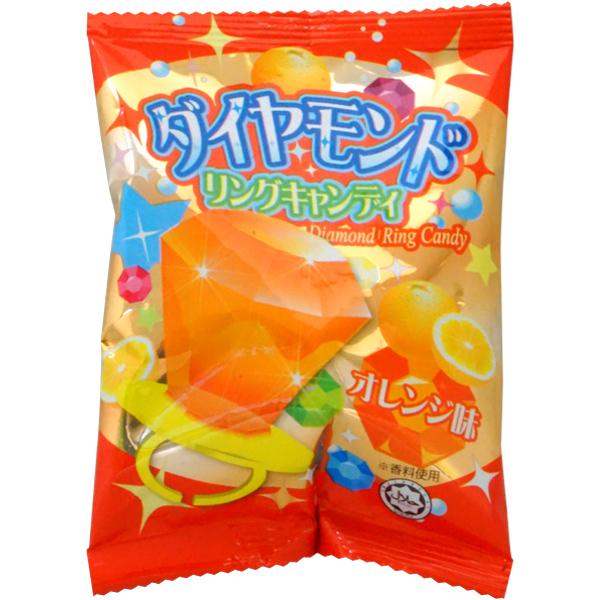 30円 やおきん ダイヤモンドリングキャンディ [1箱 24個入]