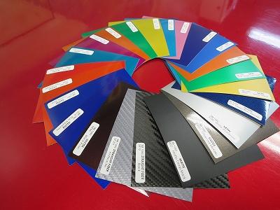 3M 1080 フイルムサンプル帳(87色)
