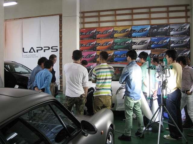 カーラッピング講習会【LAPPS】and 3M 1080 3Star研修