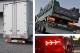 【保安基準適合・車検対応Eマーク取得済み】24V大型・中型トラック 汎用 ユーロスタイルファイバーLEDテールランプ 流れるシーケンシャルウインカー仕様