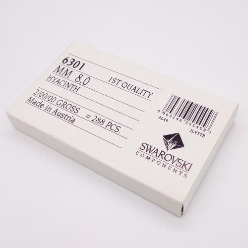 【数量限定大特価!】スワロフスキー/6301/ヒヤシンス/8mm/288個