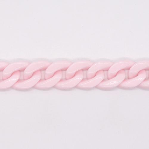 プラスチックチェーン/PLC-11/ピンク/20cm(16コマ)