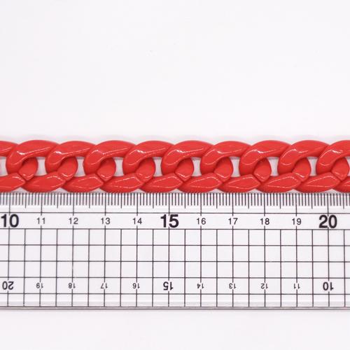 プラスチックチェーン/PLC-34/マーブルブラック/20cm(16コマ)