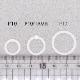 シリコンリング/P-17/内径17mm/5個