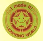 Award Stickers: Gold (直径30mm, 240片)