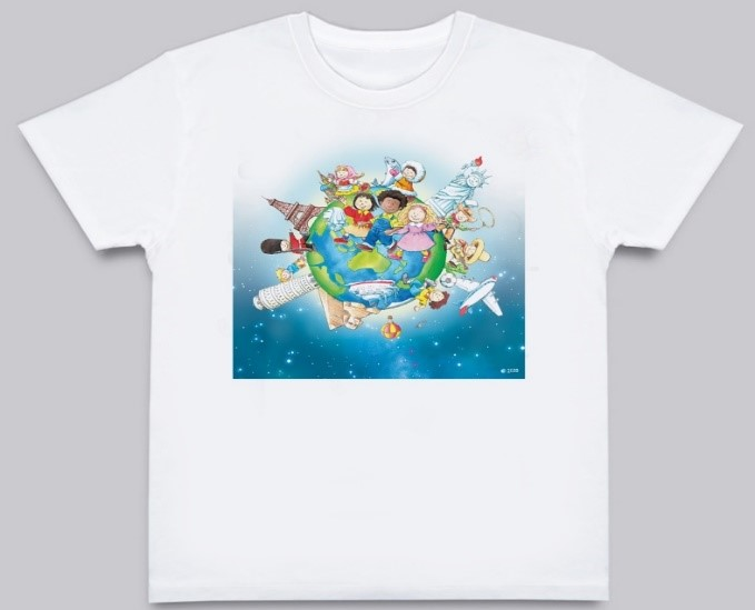 Learning World 地球ロゴTシャツ サイズ ★レディースL