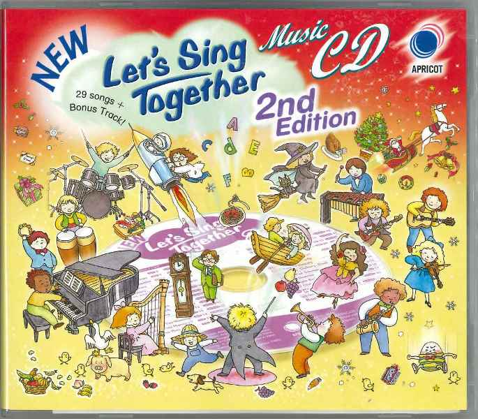 NEW Let's Sing Together 2nd Edition CD & SONGBOOKセット