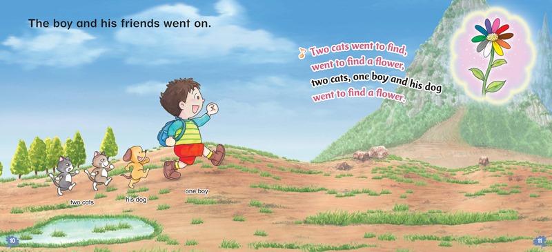 ソングde絵本 Vol.4 One Boy and His Friends(動物・複数形・過去形)